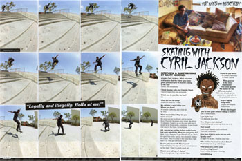 CJ October 2012 Thrasher!